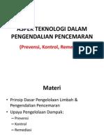 Aspek teknolofgi dalam pengendalian pencemaran - Copy.ppt