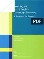 Reading and Adult English Learners