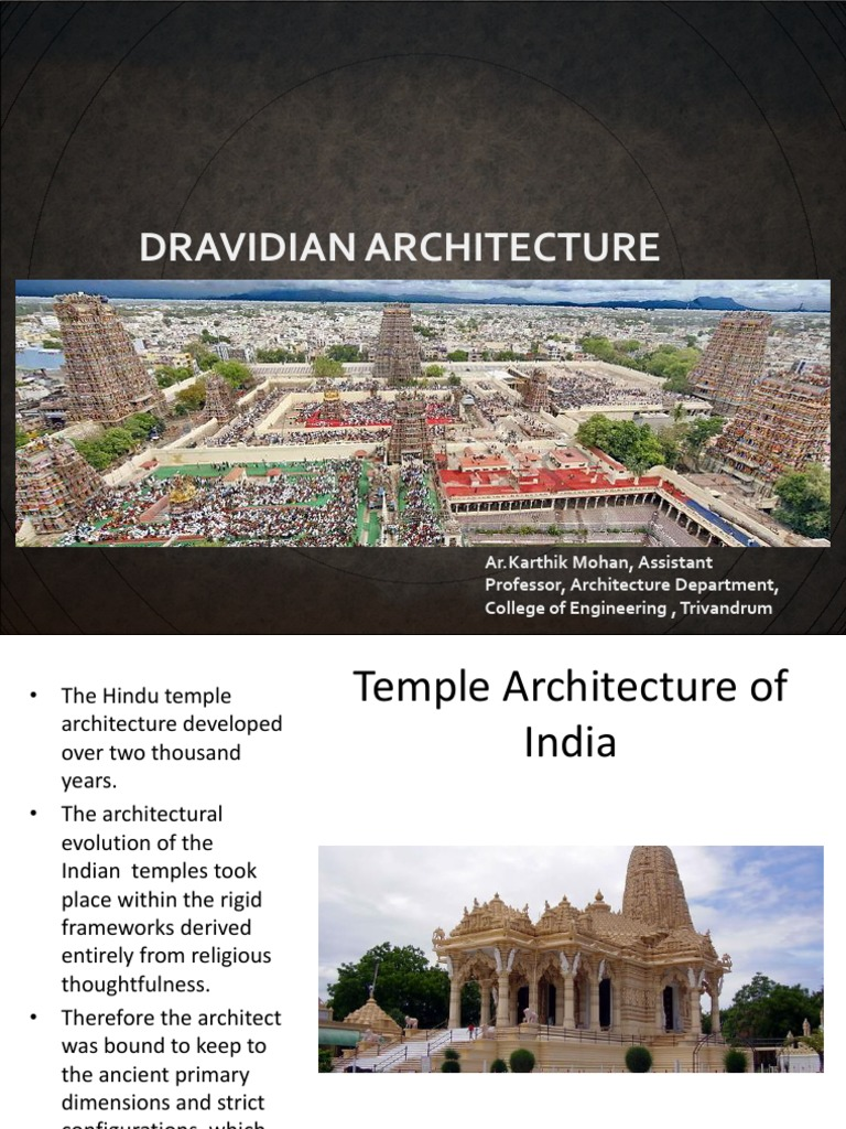 Dravidian & Indo Aryan | Architectural Design | Religion And