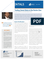 Finding Smart Beta in the Factor Zoo RAFI July2014