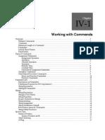 IV 0112 Commands