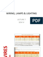 Lecture 7 - Wiring, Lamps & Lighting Fixtures