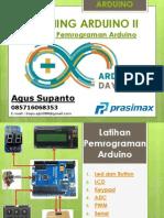 Latihan Pemrograman Arduino