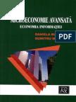 Microeconomie Avansata Economia Informatiei