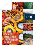 Palm oil market sustainability