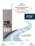 Advanced road design - Manual Autocad