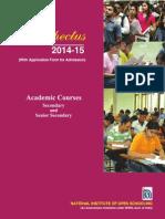 Academic Prospectus_2014-15 (Final) - 25-06-2014