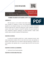 Cordic Based Fast Radix-2 Dct Algorithm