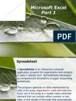 TIK 12-Spreadsheet (Part 1)