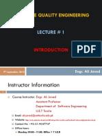 SQA Lecture 1