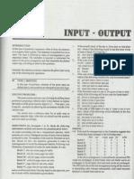Input Output Logical Reasoning Handout Cetking