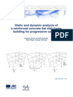 Static and dynamic analysis of a reinforced concrete flat slab frame building for progressive collapse.pdf