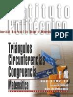 1107-14 MATEMATICA Triángulos, Circunferencias y Congruencia