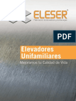 Catalogo Ascensores Unifamiliares Eleser