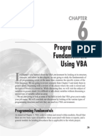 VBA Chapter