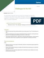 Three Big Data Challenges