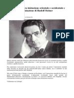 Iniziazione Orientale e Occidentale e l'Iniziazione Di Rudolf Steiner
