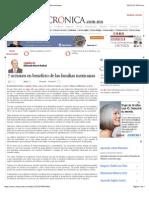 La Crónica de Hoy | 7 acciones en beneficio de las familias mexicanas