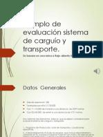 Evaluación Sistema de Carguu00EDo y Transporte