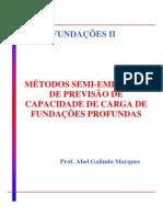 Métodos de CAP de Fund Profundas