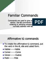 familiar commands