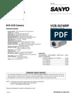 Sanyo Vcc Camara Vcb-3574irp