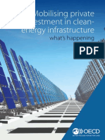 Mobilising private investment in clean energy infrastructure