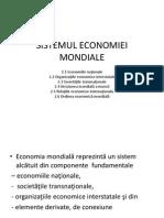 Sistemul Economiei Mondiale