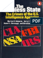 Excerpts From the Book 'the Lawless State [the Crimes of the U.S. Intelligence Agencies]' by Morton H. Halperin, Jerry Berman, Robert Borosage, Christine Marwick [1976]