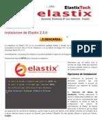 Instalacion de Elastix 2.3