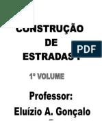 Eluísio Gonçalo - Construção de Estradas Vol.I