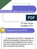 DETECÇÃO PRECOCE DA DPOC