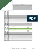 Kalender 2014-2015 - 6de Lj. - Januari