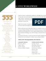 Triple Five Energy Worldwide Brochure (Oil and Gas)