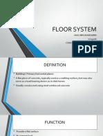 Floor System Construction