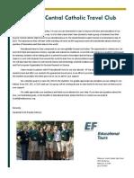 student bios flyer