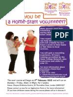 Home-Start Volunteer Flier Feb 2015