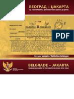 Katalog Izlozbe Beograd - Dzakarta