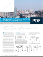 Iss35 Art1 - Comparison of Structural Elements Response in PLAXIS 3D & SAP2000