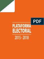 Plataforma Electoral del PAN 2015 (PRELIMINAR)