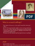 women suffrage pptx