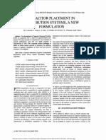 1capacitor Placement Distribution(GA)2003
