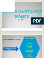 Magna Carta for Women Ppt