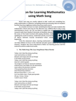 Reflection for Learning Mathematics using Math Song.docx
