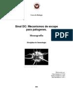 Mecanismos de Escape Para Patogenos Sinal DC