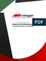 Tecnicos Certificados Mirage 2012
