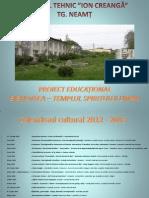 CTIC Proiect Educational