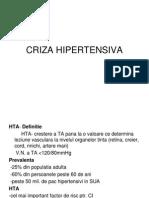 Curs 10 - Criza Hipertensiva