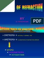 Errors of Refraction