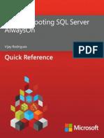 Troubleshooting SQL Server AlwaysOn